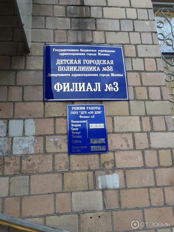 Детская городская поликлиника № 86 на коровинском шоссе.