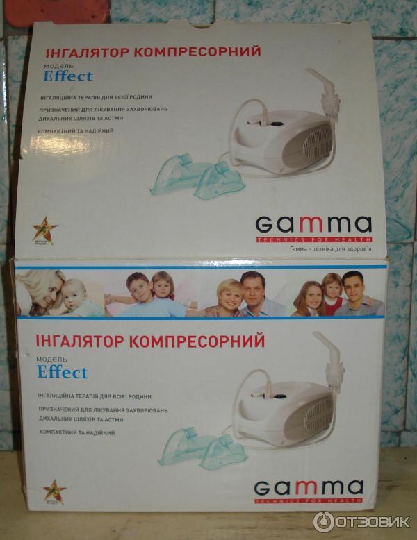 Небулайзер gamma отзывы