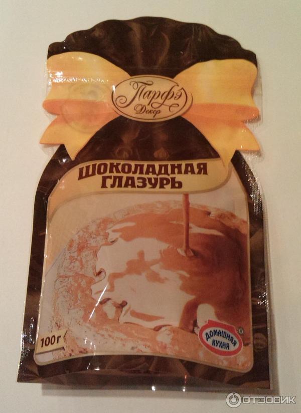 Шоколадная глазурь мягкая