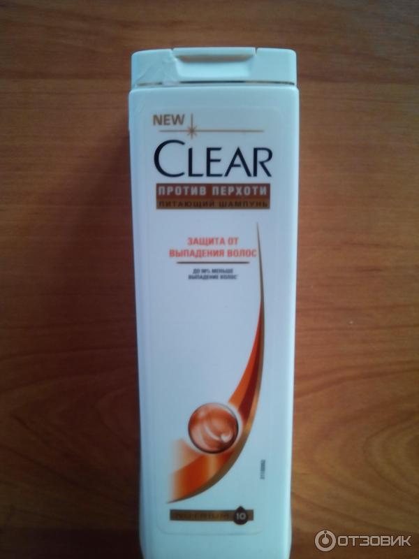 Шампунь клеар против выпадения волос отзывы