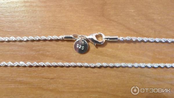 Серебряные украшения цепочки фото