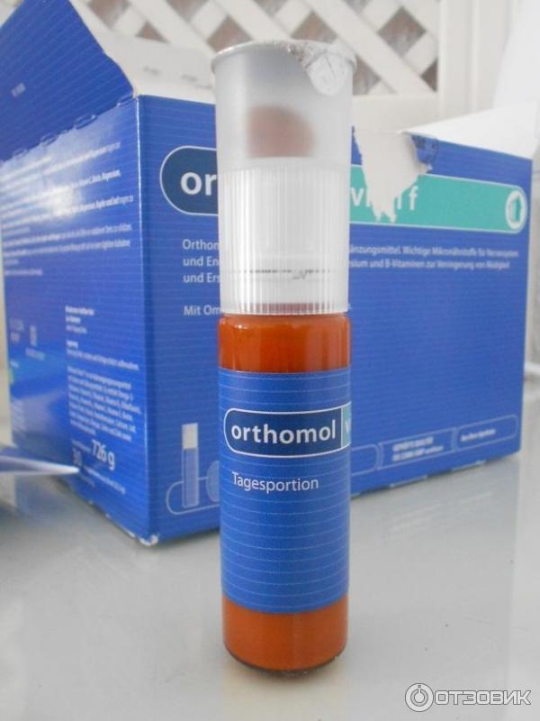 orthomol vital f инструкция таблетки