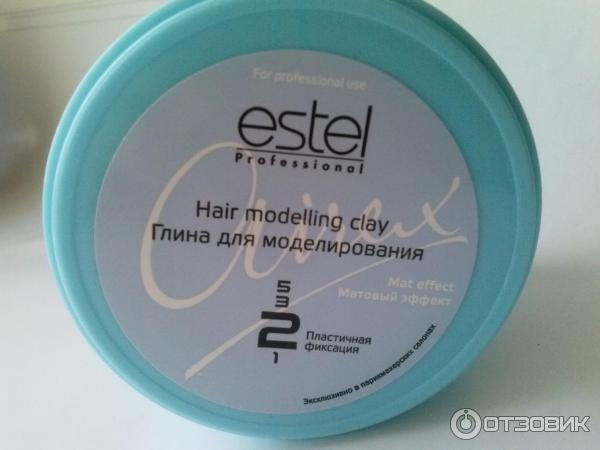Глина для волос estel