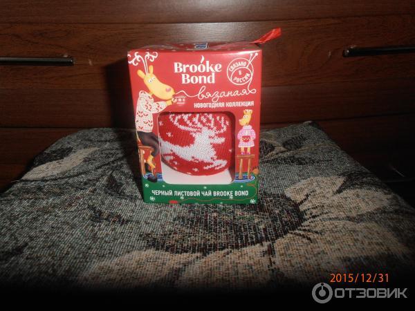 Чай brooke bond кружка в подарок 4