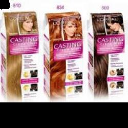 Крем-краска для волос loreal casting gloss палитра