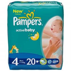 Отзывы о Детские подгузники Pampers Active Baby c52bc1e853f