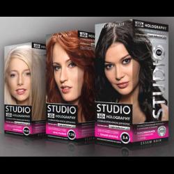 Краска для волос 3д студио