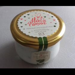 Отзыв о Кремовый мед c кедровым орехом Пчельник Miel de l'amour