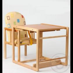 деревянный стульчик трансформер для кормления фото