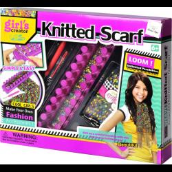 отзывы о набор для вязания шарфиков Girls Creator Knitted Scarf