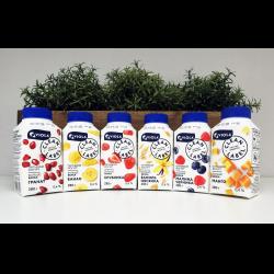 Питьевой йогурт с чем употреблять