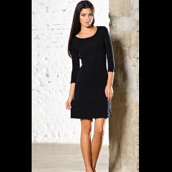 8e04669629c3 Отзывы о Черное классическое платье Savage