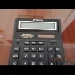 калькулятор ситизен Sdc-444s инструкция на русском - фото 11