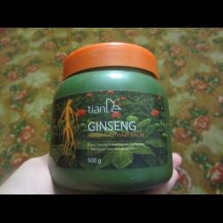 Маска для волос на основе виноградного масла