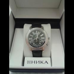 53757b1d1cc2 Отзывы о Мужские наручные серебряные часы Ника