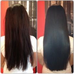 кератиновое восстановление волос отзывы фото до и