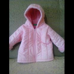 cfbb3708af3b Отзыв о Демисезонная детская куртка United Colors of Benetton ...