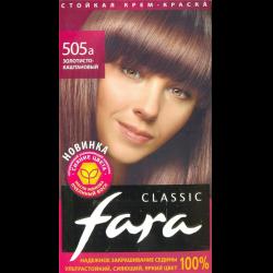 Палитра красок фара для волос