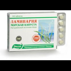 таблетки ламинарий инструкция
