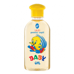 Baby oil as