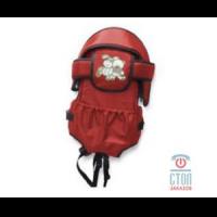 Рюкзак-кенгуру amalfi кожаный рокерский рюкзак