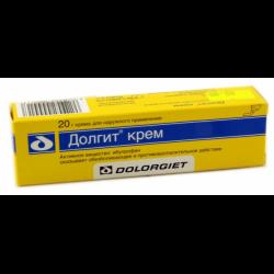 крем долгит в желтой упаковке инструкция