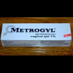 Метродил гель вагинальный