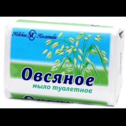 Невская косметика овсяное мыло