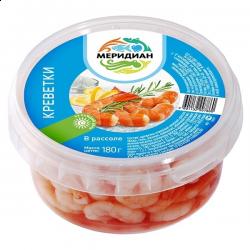 Салат с креветками в рассоле