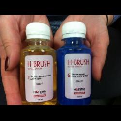 Honma Tokyo H-Brush Botox Capilar Инструкция