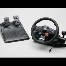 Как сделать чтобы игровой руль поворачивался на 900 градусов