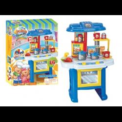 Отзывы о Детская кухня со звуком и светом sfl my first kitchen set
