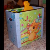 коробка для игрушек своими руками фото