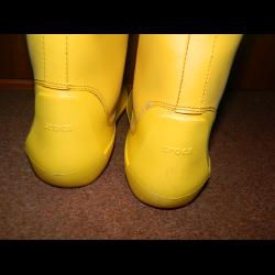 2874fb63e602 Отзывы о Женские резиновые сапоги Crocs Rain Floe