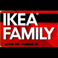 отзывы о пластиковая карта Ikea Family