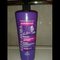 Шампунь против выпадения волос кера-нова
