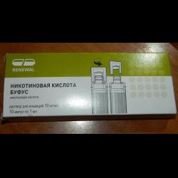 Никотиновая кислота для волос renewal отзывы