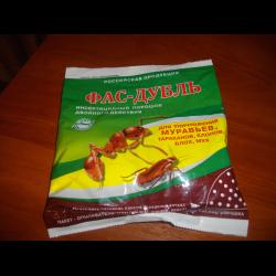 Фас-дубль от муравьев отзывы и инструкция по применению.