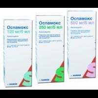 оспамокс 250 мг инструкция по применению