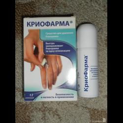 Медицинские препараты от папилломы человека