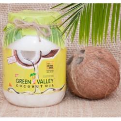 Кокосовое масло 100 натуральное coconut jil green valley