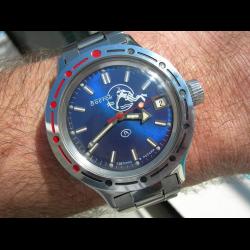 d22ad1f20eab Отзывы о Часы наручные механические Восток Амфибия 420059