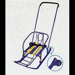 детские санки с колесиками фото