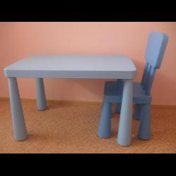 отзывы о пластиковый стол и стул из серии Ikea маммут
