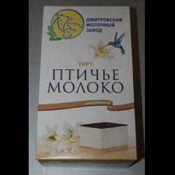 Птичье молоко торт упаковка