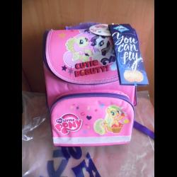 75ba43b290ef Отзывы о Рюкзак школьный каркасный Kite 501 Little Pony-3