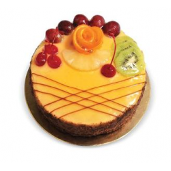 торт сан тропе с фруктами рецепт
