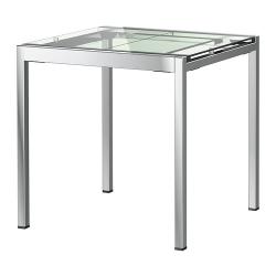 отзыв о раздвижной стол Ikea гливарп красивый компактный но