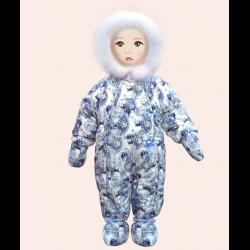 комбинезон зимний детский фото
