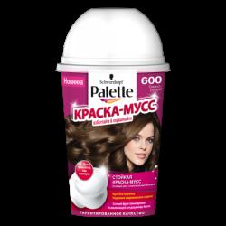 Палет краска мусс для волос